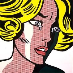 Roy Lichtenstein - Frightened Girl - Pictify - your social art network