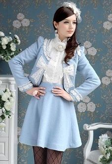 Lace Bow Jacket