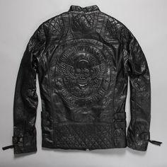All'ingrosso 2017 nuova moda borchiato giacca da motociclista maschio rosso bianco nero giacca in pelle moto per gli uomini PU di alta qualità