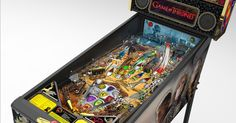 The night is dark and full of multiballs. HBO is releasing an official 'Game of Thrones' pinball machine.