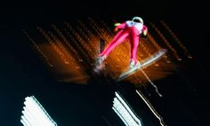 Ski Jumping: Men's Large Hill Team Training