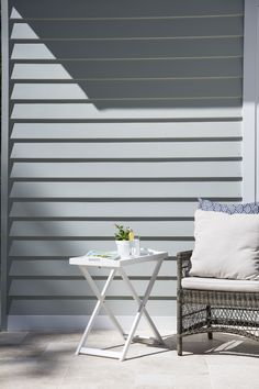 Moisture and rust resistant, Scyon Linea weatherboards are the perfect choice for Australian coastal homes. Outdoor Furniture Sets, House Design, Coastal Decor, Home, House Windows, House Exterior, Wall Cladding, Australian Homes, Nautical Home
