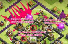 MEGACube Layout - Maximum DE Protection for TH8   Clash of Clans Land Archer Queen, Clan Castle, Barbarian King, Off The Map, Clash Of Clans, Are You The One, The Outsiders, Layout, Stuff Stuff