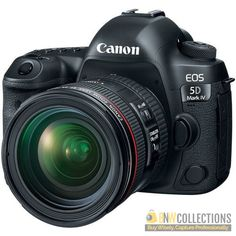 """Buy Canon EOS 5D Mark IV DSLR Camera with 24-70mm f/4L Lens At Rs.423,500 Features >> 30.4MP Full-Frame CMOS Sensor, 3.2"""" 1.62m-Dot Touchscreen LCD Monitor Cash on Delivery In All Over Pakistan, Hassle FREE To Returns Contact # (+92) 03-111-111-269 (BnW) #BnWCollections #Canon #EOS #5D #Mark_IV #DSLR #Camera #Lens"""