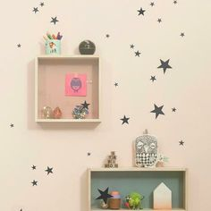 Mini Stars WallSticker - Ferm Living | domino.com