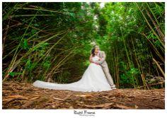 www.rightframe.net - Beautiful Destination Beach Wedding in Oahu. Bamboo, forest, photography, photographer, weddings, photos, bride , groom, hawaiian, romantic, ideas, couple, bouquets, lei, trash the dress, tdd, rainforest.