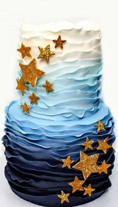 Twinkle Twinkle Little Star baby Shower cake