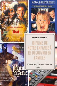 Les 10 films classiques de notre enfance à re – découvrir en famille : bonne ou mauvaise idée ? Crocodile Dundee, Roger Rabbit, Robin Williams, Disneyland, Game Of Thrones, Bon Film, Books, Movie Posters, Diy