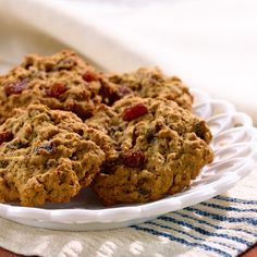 Top up fibre easily with cereals, snacks and delicious recipes from All-Bran. Cookie Desserts, Cookie Recipes, High Fiber Cereal, All Bran, Joy Of Cooking, Spice Cookies, Muffins, Cereal Recipes, Breakfast Cookies
