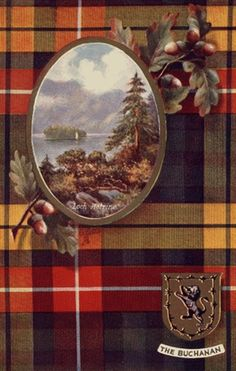 Clan Buchanan Table Mat