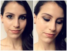 Tutorial Make Festa com Naked Basics | New in Makeup