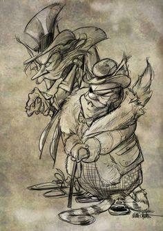 Art For Art Sake, Pinocchio, Beetlejuice, Oeuvre D'art, Alice, Illustrations, Drawings, Tips, Artwork