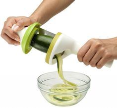 Chef'n Twist Handheld Spiralizer Vegetable Slicer