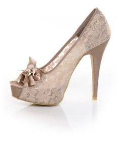 """Lace Shoes...first and only item in the """"my style"""" category thus far. I'm not a shoe girl, but if I was, these would be in my shoe closet!"""