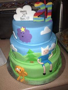 adventure time cakes - Google Search