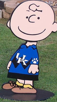 Charlie Brown for Xavier my grandson who loves Snoopy since visiting Jenny in California Uk Wildcats Basketball, Kentucky Basketball, Basketball Uniforms, Basketball Camps, Uk Football, Basketball Legends, University Of Kentucky, Kentucky Wildcats, Xavier Basketball