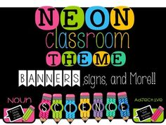 This neon classroom theme has everything you need to make your classroom look great. And just in case it doesn't...I've included and editable file for you to make what you need!This product will come as a .zip file. You will receive a pdf and a powerpoint file.
