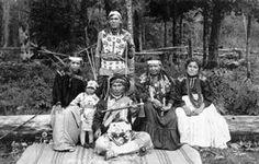 1922 Tecumsa, a Potowatomi, and his family.  Tecumsa was the keeper of the sacred tribal drum.