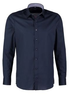 BODY FIT - Kostymskjorta - dunkelblau