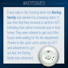 The Bertog family's story. #AlwaysThere #ADTSaves #ADT  To learn about how you can get a #carbonmonoxide security service in your home, please visit adt.com.