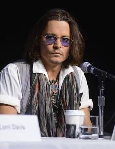 "Johnny Depp at a press conference ""Western Memphis"" during the Toronto International Film Festival at TIFF Bell Lightbox September 8, 2012"
