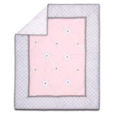 cool The Peanutshell Princess Crib Bedding Set for Baby Girls 3 Piece Pink Grey Nursery Set Crib Comforter Fitted Crib Sheet Crib Skirt Included 0 0 Fit for royalty, your baby girl will feel right at home with this princess themed 3 Piece Crib Bedding Set. The starter bedding set includes a reversible quilt, a fitted sheet and a dust ruffle... all in touchably soft microfiber The quilt, with a...