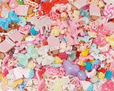 Mixed Lot of Kawaii Decoden Resin Cabochons For Decoden,Scrapbooking, Cardmaking, Project Life and Pocket Letters - Please select pack size