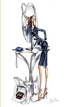 Arturo Elena Fashion illustration..