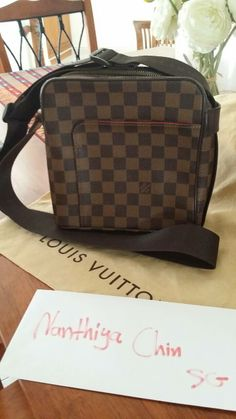 Louis Vuitton Olav PM Used condition. Like new 9/10 Come with Dust bag and reciept  Selling at 689SGD