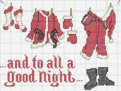 Santa Claus, and to all a good night, Santa clothes