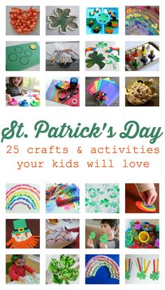 25 Easy St.Patrick's Day Crafts & Activities for Kids