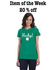 Lucky St. Patrick's Day Women's T-shirt