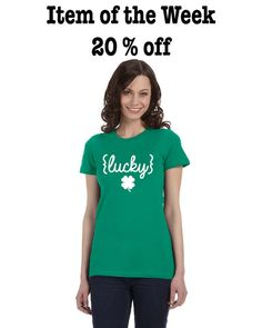 Lucky St. Patrick's Day Women's T-shirt