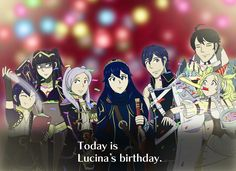 [OC] Happy Birthday to Lucina! As well as many many other things...