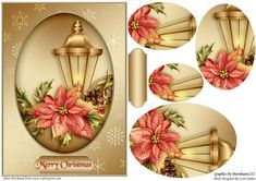 Card Front Christmas Lantern