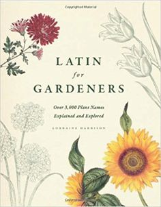 Latin for Gardeners: Over 3, 000 Plant Names Explained and Explored: Lorraine Harrison: 9780226009193: AmazonSmile: Books