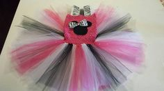 Check out this item in my Etsy shop https://www.etsy.com/listing/235653198/minnie-mouse-theme-tutu-dress-age-2-5