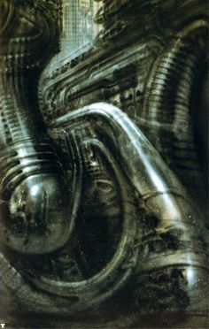 H. R. Giger - Biomechanical Landscape