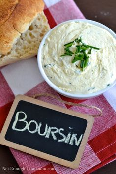 Homemade Boursin Cheese - NotEnoughCinnamon.com