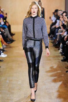 Paris  Luis Buchinho  Love the slim pant styled with a masculine/fem blouse !