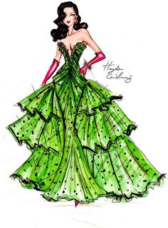 "Wishing everyone a Merry Christmas with some Festive Couture! A stunning sequin & crystal covered silk & tulle gown in a festive shade of green worn with contrasting red satin gloves & some priceless jewellery"" — Hayden Williams Hayden Williams, I Love Fashion, Fashion Art, Fashion Models, Paper Fashion, Fashion Music, Green Fashion, Dior Haute Couture, Couture Fashion"