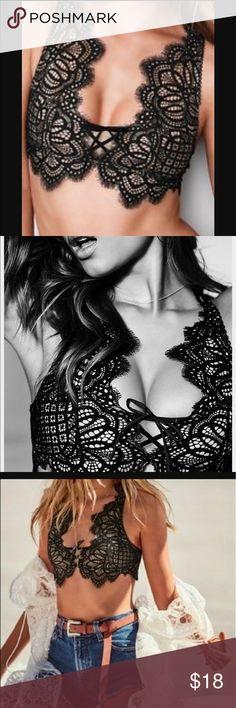 SALE💕 VS DREAM ANGEL BRALETTE NWT Victoria's Secret dream angels BRALETTE  bra size- Medium Brand new with tags ships fast ships today 💕no TRADES PINK Victoria's Secret Intimates & Sleepwear Bras