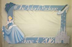 Cinderella Princess Photo Booth Frame to Take Pictures Birthday | eBay
