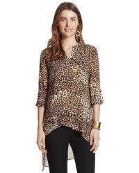 Lavishly Chic Leopard Tula Top