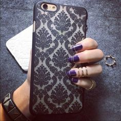 iPhone 6 Plus/ iPhone 6s Plus case-black Brand new iPhone 6 and 6s Phone case.   It is a very delicate design that will turn heads in public. I promise you will love the feel and the look of this case as soon as you see it.  I will ship it out in 24 hours. Accessories Phone Cases