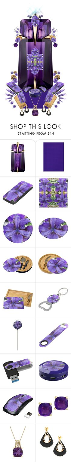 """""""Suddenly and Mysteriously Stun by Great Color."""" by gayeelise on Polyvore featuring interior, interiors, interior design, home, home decor, interior decorating, Effy Jewelry and Lord & Taylor"""