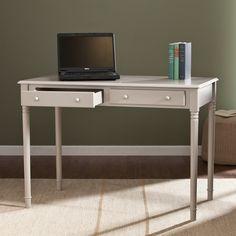Wildon Home ® Pratt Writing Desk with 2 Drawers