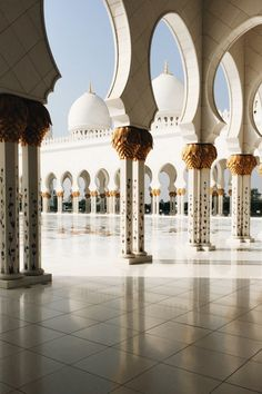 Sheikh Zayed Grand Mosque Center, Abudhabi | Anton Heko | VSCO