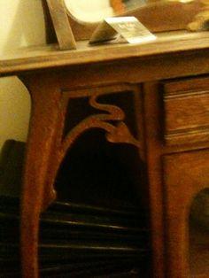 Art Nouveau Furniture In Ghent.