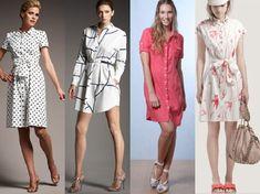 22 Modelos de Vestidos Chemise (Chemisier) incríveis!